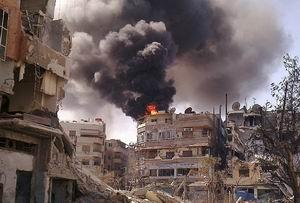 Şam Esed Güçlerinin Ağır Ateşi Altında