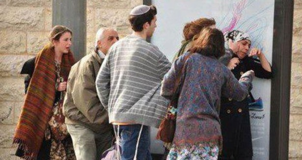 Kudüsün Ortasında Utanç Görüntüleri