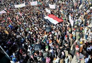 Irakta Geliyoruz Ey Bağdat Gösterisi