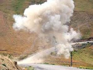 Lice'de Mayın Patlaması: 4 Yaralı