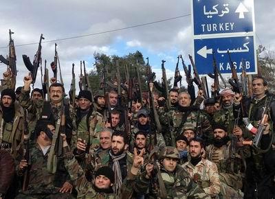 Yakalanan Esed Askerleri Arasında Türkiyeliler Var!