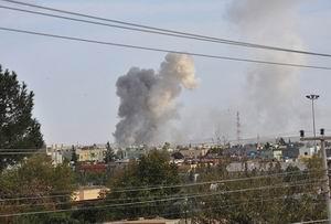 Şam ve Humus Havadan Vuruldu (Video)