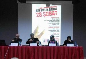 İstanbul Üniversitesi'nde 28 Şubat Programı Yapıldı!