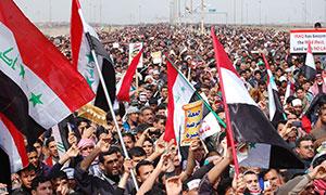 Irak'taki Cuma Gösterilerinde Kan Aktı