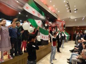 Suriye İntifadası'nın 3. Yılında Dayanışma Gecesi Düzenlendi