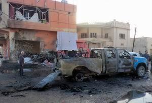 Kerkükte Polis Merkezine Bombalı Saldırı