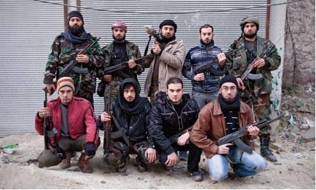 Özgür Suriye İçin Savaşan 10 Kardeş