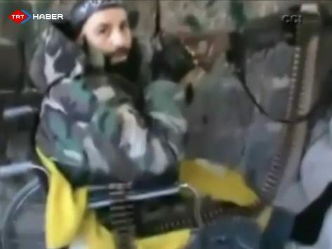 Cihada Tekerlekli Sandalyesiyle Katılıyor (VİDEO)