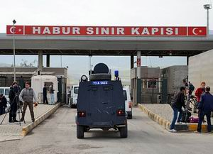 Habur Sınır Kapısı Giriş ve Çıkışlara Kapatıldı