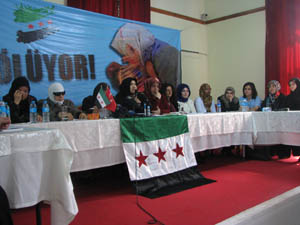 Suriyeli Kadınlar İçin Kadın Dayanışması