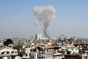 Esed Güçleri Şama Havadan Saldırdı: 10 Şehit