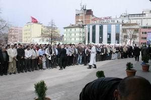 Samsun'da Suriye İntifadasına Destek Eylem