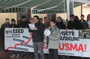Sapanca'da Suriye İntifadası Selamlandı