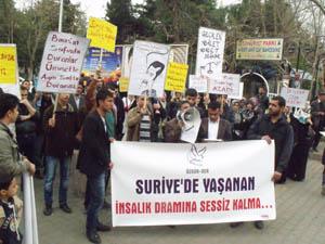 Suriye Direnişine Siverekten Destek Eylemi