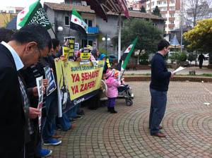 Eynesil 3.yılında Suriye İntifadasını Selamladı