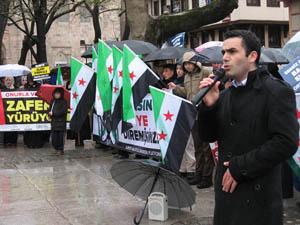 3. Yılına Giren Suriye Direnişine Bursadan Bin Selam