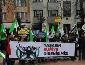Yalova'da Suriye İntifadasına Destek Eylemi