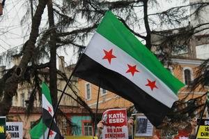 3.Yılına Giren Suriye İntifadasına Trabzon'dan Bin Selam