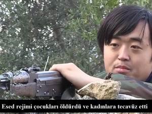 Suriye'de Savaşan Çinli Mücahidden Mesaj (VİDEO)