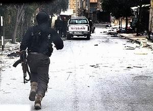 Halep'e Kimyasal Bomba Atıldı