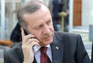 Meşal İle Erdoğan Telefonda Görüştü