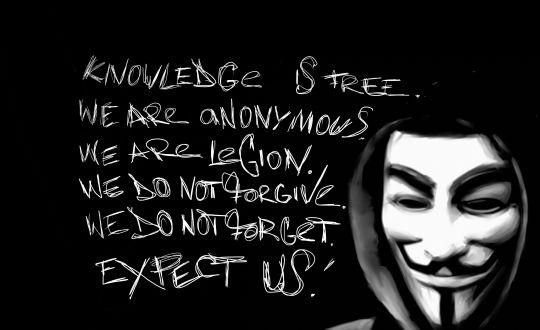 Anonymoustan Mossada Ağır Darbe