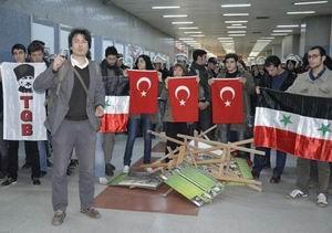 TGB'li Kemalist Şebbihalardan Çirkin Saldırı