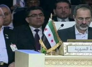 Suriye Koltuğuna Muaz El-Hatip Oturdu