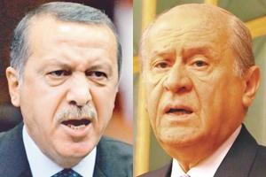 Erdoğan'dan Bahçeli'ye 'Sen Kimi Vuruyorsun'