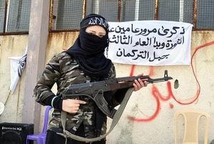 Suriyeli Emiranın Esed'e Karşı Eli Tetikte