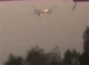 Muhalifler Silah Taşıyan İran Uçağını Vurdu