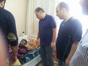AID'den Suriyeli Yaralılara Ziyaret