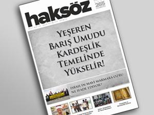 Haksöz Dergisi Nisan Sayısı Çıktı!