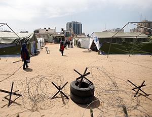 """Gazze'de """"Negev Çöl Hapishanesi'' Kuruldu"""
