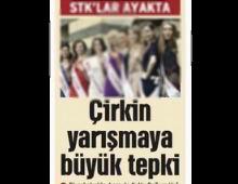 """Diyarbakır'daki """"Güzellik Yarışması"""" İptal"""
