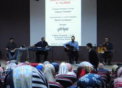 İÜ İlahiyatta Suriye İntifadasına Selam