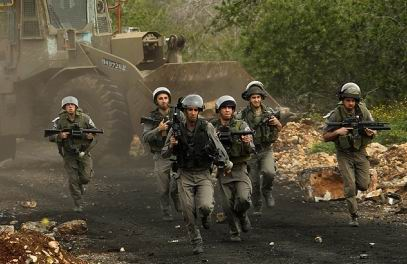 İsrail Askerleri Gazze Şeridine Girdi
