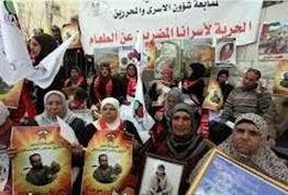 Kudüs Halkı Esirler İçin Eylem Yaptı