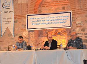 Bursa'da Çözüm Süreci Konuşuldu