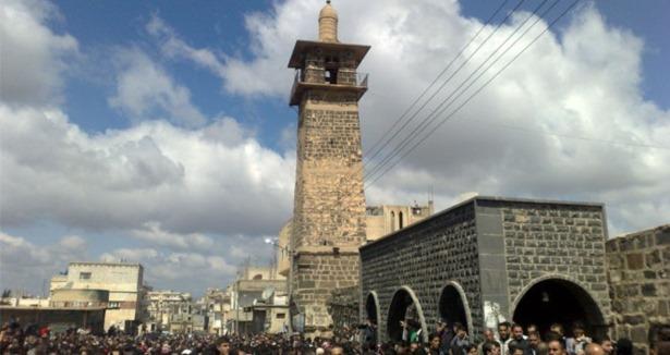 1400 Yıllık Cami Esedin Son Kurbanı Oldu (VİDEO)