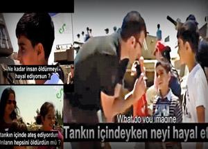 Siyonist İsrail'den Çocuklara Öldürme Eğitimi