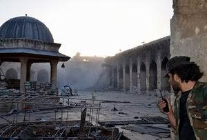 Tarihi Emevi Camisi Yine Bombalandı