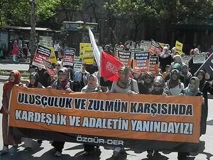 Fatih'te Kardeşlik ve Adalet İçin Yürüyüş (FOTO)