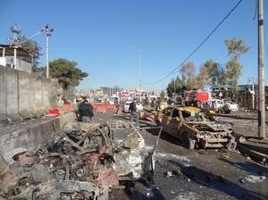 Irakta Polis Noktasına Bombalı Saldırı