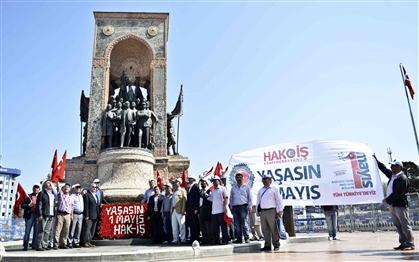 1 Mayıs'ta En Anlamsız Eylem Hak-İş'e Nasip Oldu!