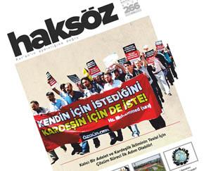 Haksöz Dergisinin Mayıs Sayısı Çıktı