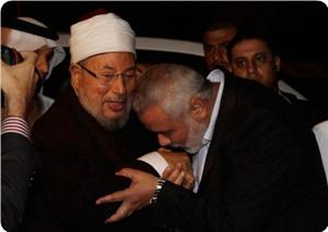 Şeyh Yusuf el-Kardavi Gazzede (FOTO)
