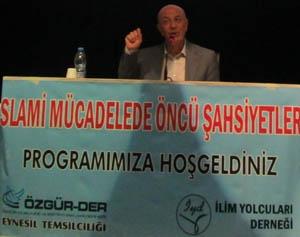 Trabzonda M. Akif ve Mücadelesi Konuşuldu