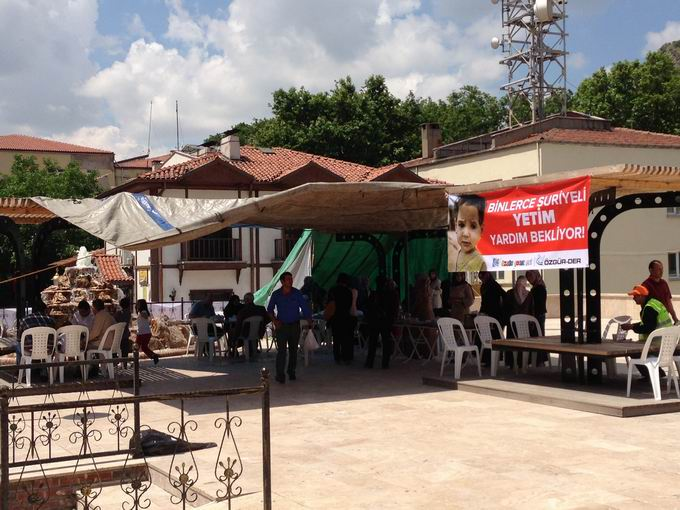 Amasya'dan Suriye'ye Destek Kermesi