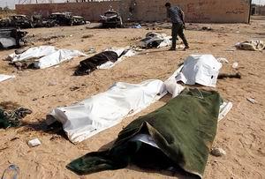Libyada Yeni Bir Toplu Mezar Bulundu